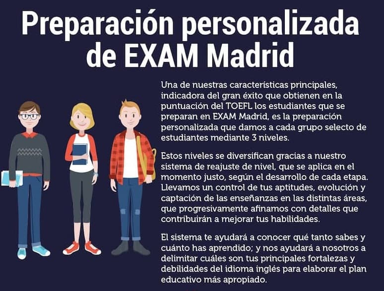 TOEFL EXAM MADRID ACADEMY
