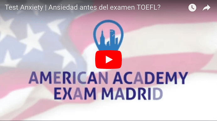 TOEFL EXAM EN MADRID