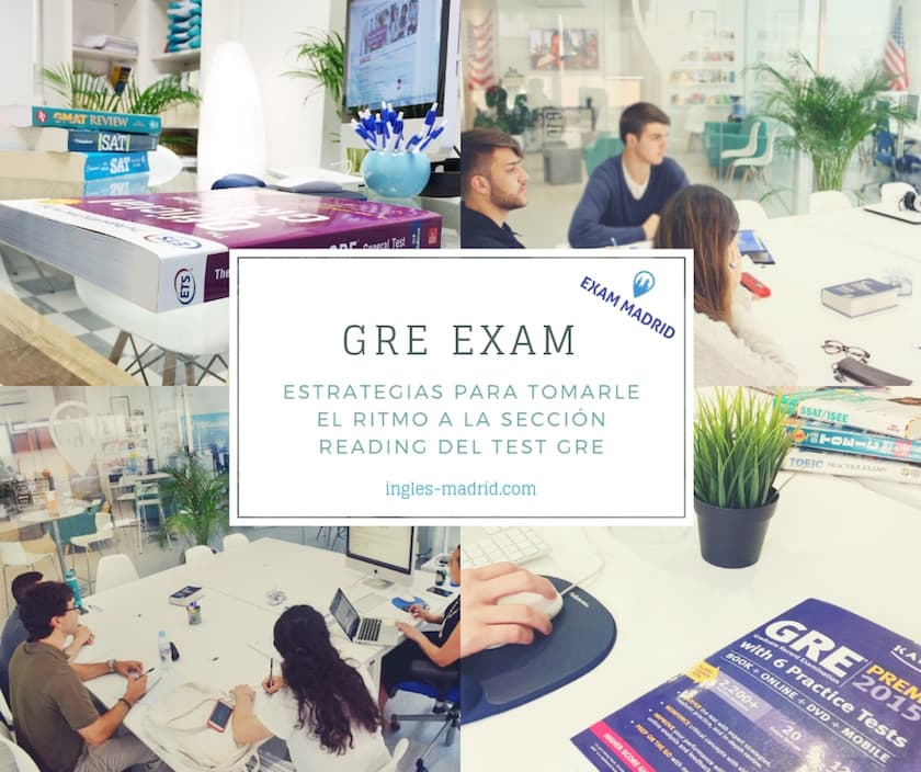 GRE exam Madrid