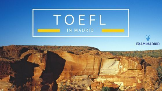 TOEFL WRITING EN MADRID