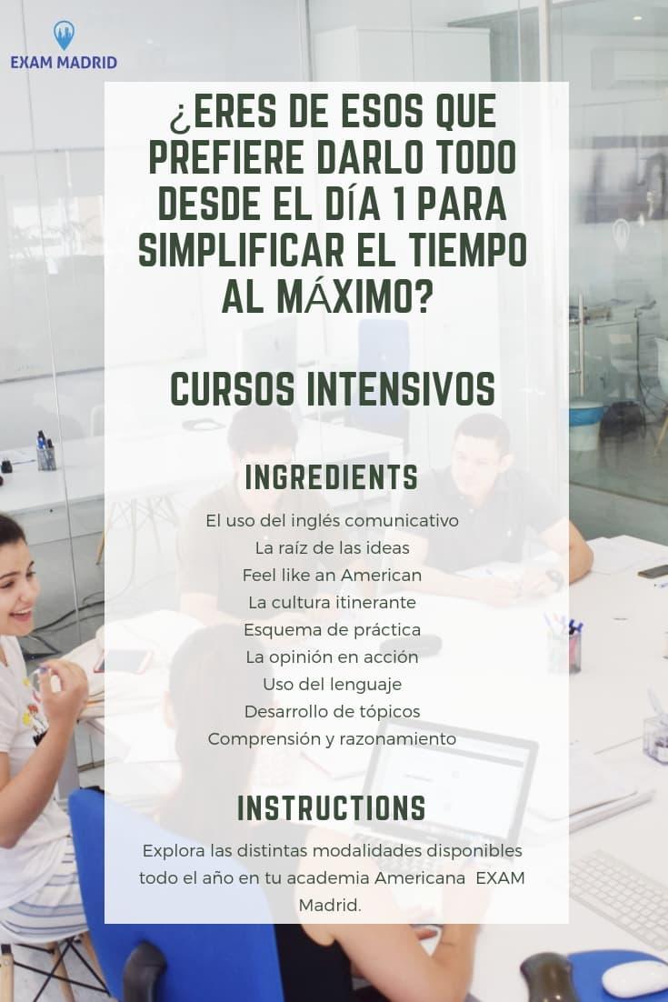 Ventajas de hacer un curso de inglés intensivo