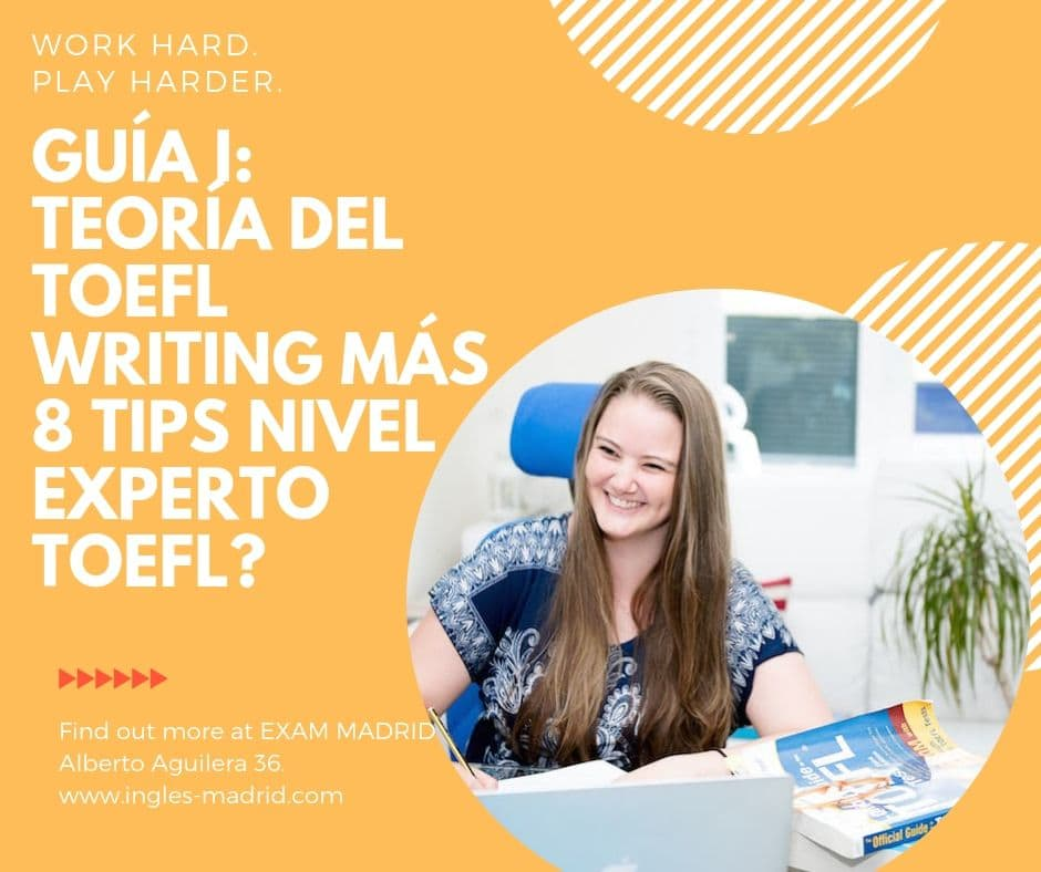 toefl writing 8 tips nivel experto