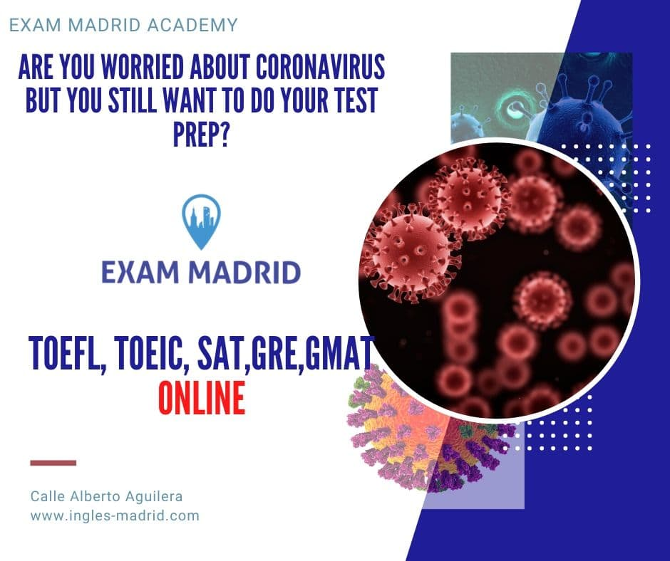 are you Worried about coronavirus but you still want to do your test prep
