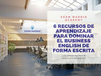 6 recursos de aprendizaje para dominar el Business English de forma escrita