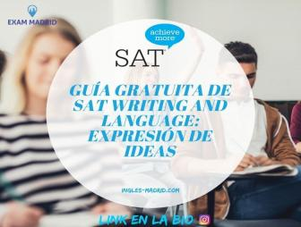 Guía gratuita de SAT Writing and Language_ Expresión de ideas